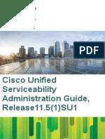 Cucm b Serviceability Admin Guide 1151su1