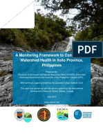 Watershed Monitoring Framework Iloilo Watershed Management Council