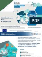 ACROSS Public Forum Project Presentation