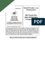 Rudolf Freiherr von Sebottendorf - Die Praxis der alten turkischen Freimaurerei.pdf