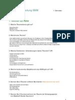 Prüfungsvorbereitung Kommunikations- und Medienwissenschaft I