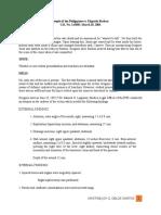 Case Digest for Legal Medicine
