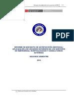 Informe Servqual 2014 2