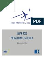 RPAS Workshop 2014 SESAR Programme 2020