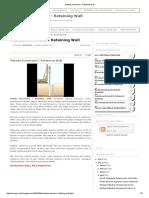 Metode Konstruksi _ Retaining Wall