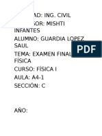 Examen Final Fisica