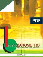 Euskobarometro 2010 maiatza