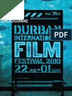 Durban International Film Festival - 2010 Programme