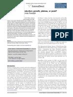 Future World Oil Production (Growth, Plateau, Or Peak)