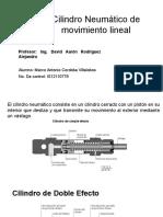 Cilindro Neumático de Movimiento Lineal