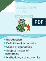 Intro to Eco
