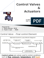 Pratik Kale & Mohit _Control Valves and Actuators