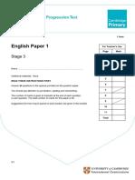 Primary Progression Test - Stage 3 English Paper 1.pdf