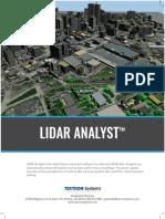 TS GS LIDAR Analyst Brochure