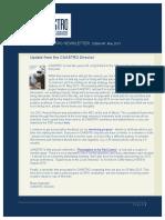 Caastro Newsletter 20130506