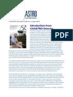 Caastro Newsletter 20130815