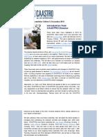 Caastro Newsletter 20131217