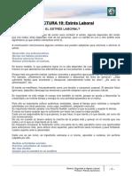 Lectura 19 - Estrés Laboral