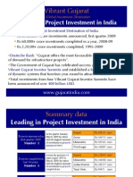 Vibrant Gujarat-leading in project investment in India