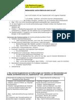 Klausurfragen - Empirische Rezipienten- und Medienwirkungsforschung