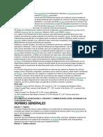 El Presente Reglamento Regula El Procedimiento de Notificaciones