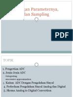 ADC Dengan Parameternya, Resolusi Dan S