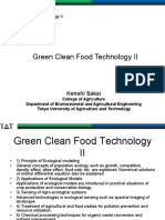 Green Clean Food Technology