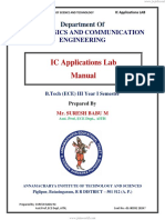 IC Lab Manual