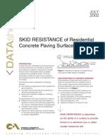 Skid Resistance