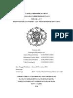 Laporan Praktikum Farmakologi Reseptor Histamin