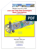 Shell and Tube HX Basic Calculation