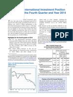 0415 International Investment Position