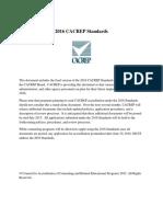 2016 CACREP Standards
