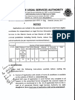 Notice for Empanelment DLSA East KKD