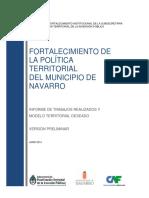fortalecimiento de la politica municipal de navarro
