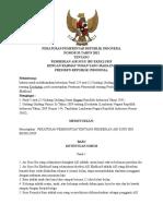Kebijakan Pemerintah Ttg Imd