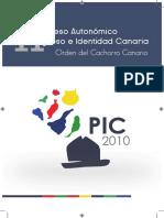 Progreso Identidad Canaria PIC2010