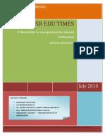 IFSR Edu Times July 2010