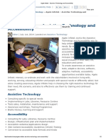agate Infotek - assistive technology and accessibility
