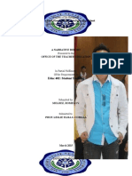 Practice Teaching Narrative Report- Final
