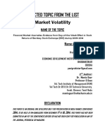 Final Paper-Financial Market Anomalies Evidence From Day-Of-The-Week Effect in Stock Returns