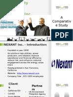 Competitive Study- Nexant