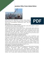 Manfaat Menggunakan Silica Fume dalam Beton.docx