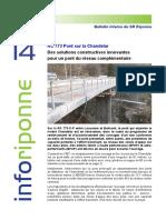 No 14 - Novembre 2014 - Pont sur la Chandelar