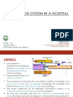 Circulation System in a Hospital 18 01 17