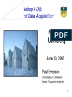 Telemetry and Data Acquisition