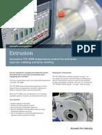 Extrusion Tcp3000 Flyer en 2013