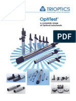 TRIOPTICS OptiTest Product Brochure E 2013