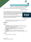 Techniques in Molecular Biology_TUT3