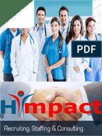 Business Proposal Health Care Cector | Recruiter of Doctors - hiimpact Consultants